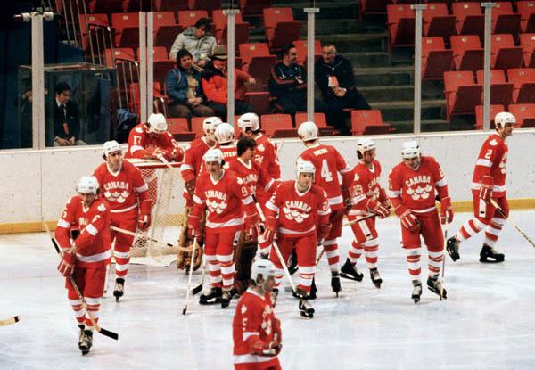 1980 год. Финляндия – Канада – 4:3. Фото www.collectionscanada.gc.ca