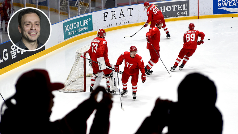 """Обозреватель """"СЭ"""" Игорь Рабинер мечтает написать репортаж с победного финала олимпийского хоккейного турнира."""