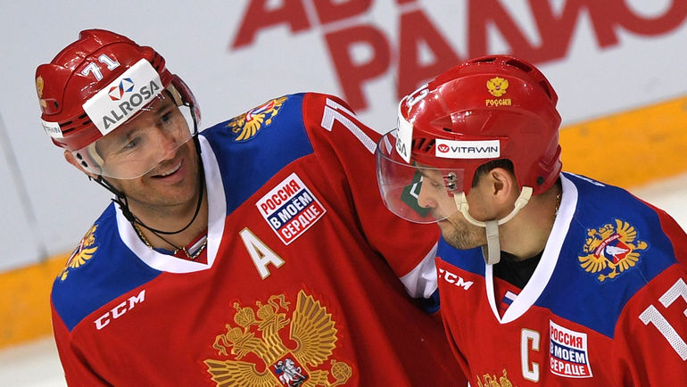 """Илья КОВАЛЬЧУК (слева) и Павел ДАЦЮК. Фото Александр ФЕДОРОВ, """"СЭ"""""""