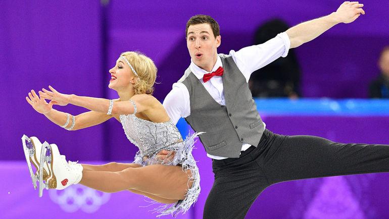 Алена САВЧЕНКО (слева) и Бруно МАССО. Фото AFP