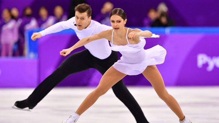 Александр ЭНБЕРТ (слева) и Наталья ЗАБИЯКО. Фото AFP