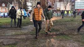 ЦСКА в Белграде: грязь, снег и холод