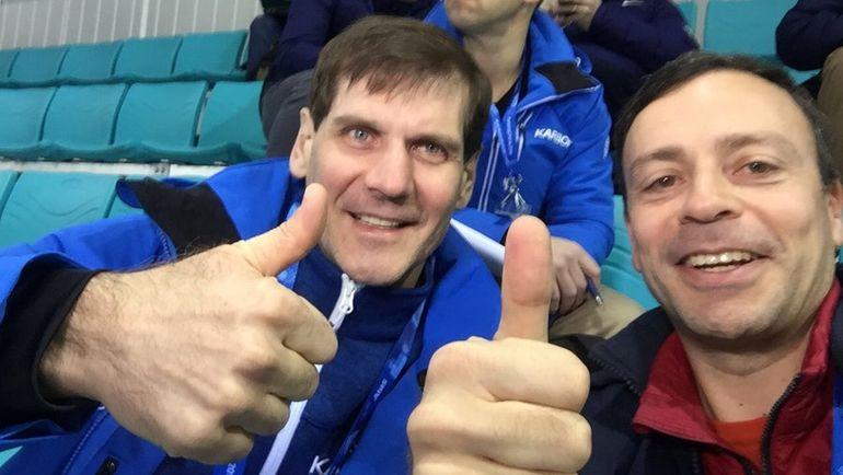 """Алексей ЯШИН и Игорь РАБИНЕР. Фото """"СЭ"""""""