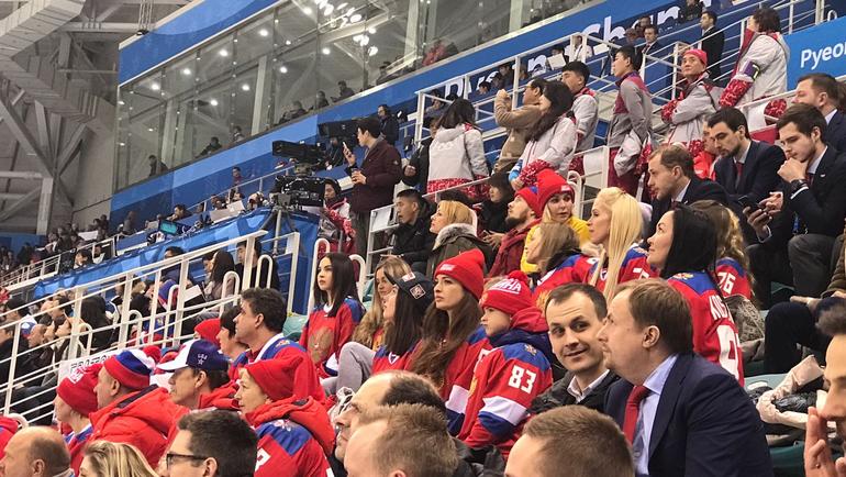 Русские  хоккеисты уступили Словакии впервом матче наОИ