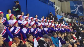 Самые пугающие болельщики Олимпиады - из КНДР