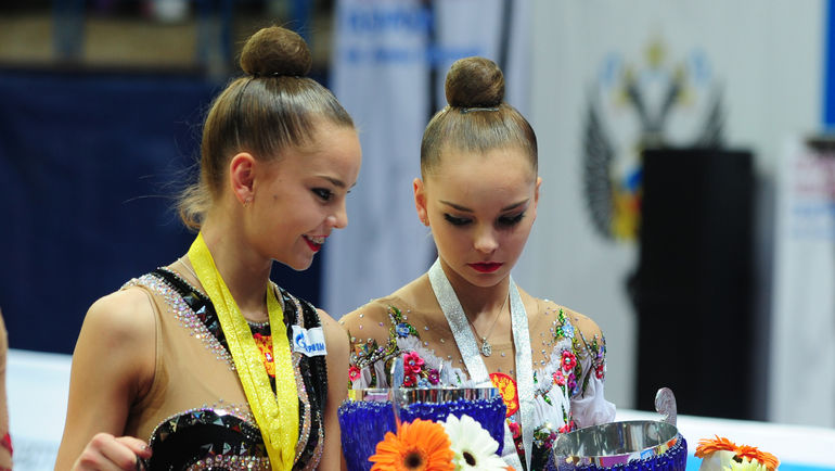 Дина (слева) и Арина АВЕРИНЫ. Фото Никита УСПЕНСКИЙ