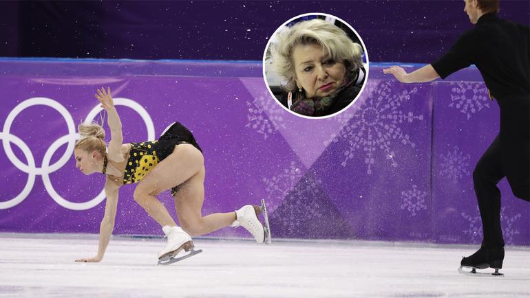 Четверг. Пхенхчан. Евгения ТАРАСОВА и Владимир МОРОЗОВ не смогли завоевать медалей. Фото AFP