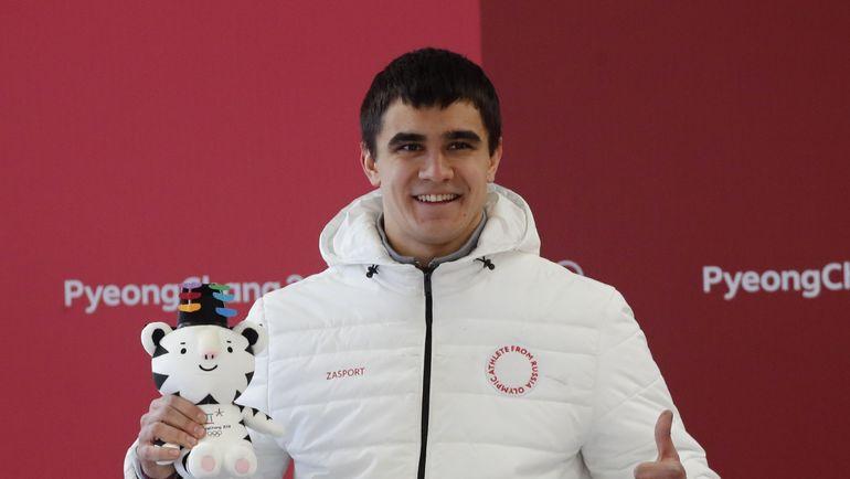Пятница. Пхенчхан. Никита ТРЕГУБОВ - серебряный призер Олимпиады. Фото REUTERS