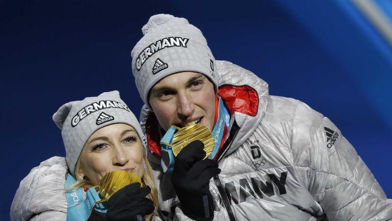 Алена САВЧЕНКО и Бруно МАССО. Фото REUTERS