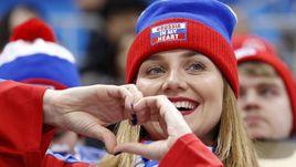Разгром Словении на радость Олимпийских фанатов из России
