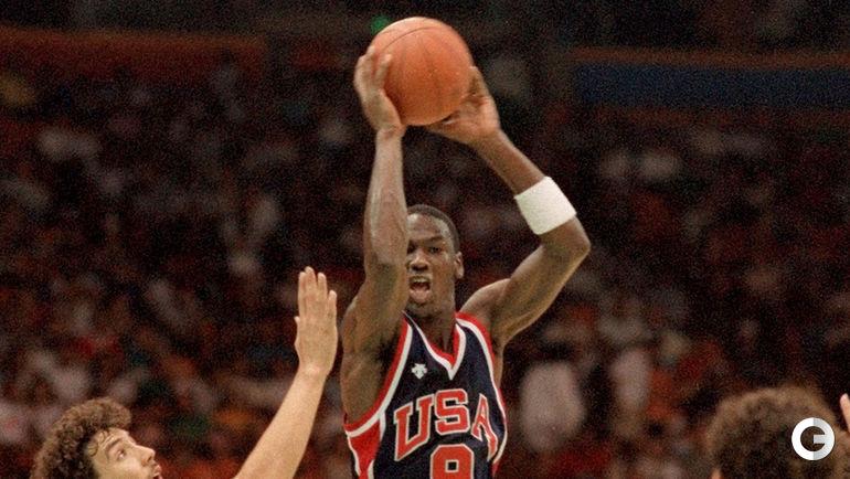 1984 год. Майкл ДЖОРДАН на своей первой победной Олимпиаде.