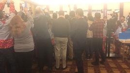 Президент Кореи нанес визит в Главный пресс-центр Игр