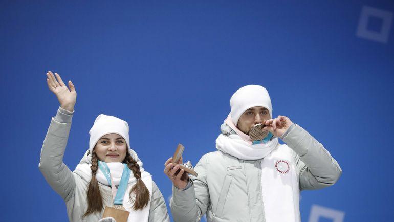 Александр КРУШЕЛЬНИЦКИЙ (справа) и Анастасия БРЫЗГАЛОВА. Фото REUTERS