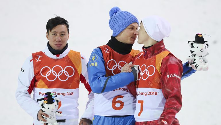 Китаец Цзя Цзунян, украинец Александр АБРАМЕНКО и россиянин Илья БУРОВ (слева направо). Фото REUTERS