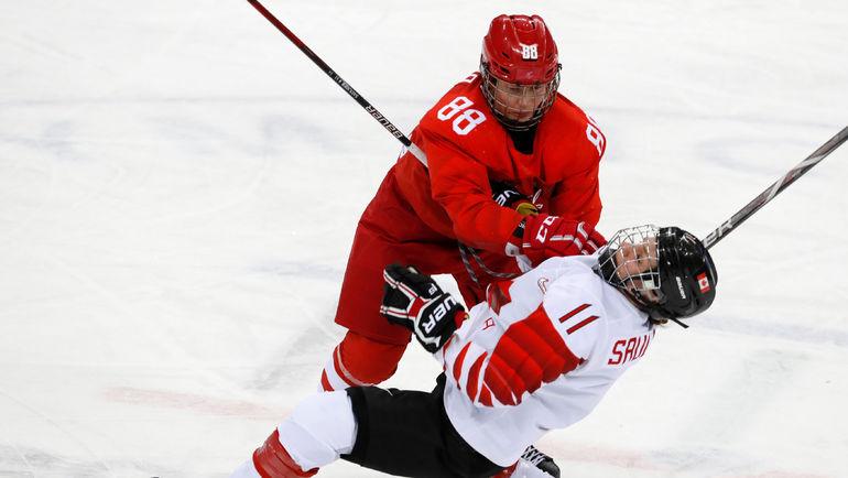 Сегодня. Пхенчхан. Канада - Россия - 5:0. Россиянки не смогли выйти в финал олимпийского турнира. Фото REUTERS