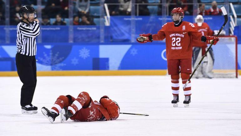 На льду - Анна ШОХИНА. Фото AFP