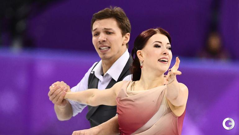 Сегодня. Каннын. Фигурное катание, танцы. Екатерина БОБРОВА и Дмитрий СОЛОВЬЕВ (Россия).