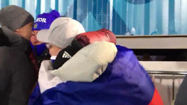 Эмоции Вяльбе после серебра в командном спринте
