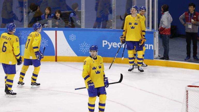 Самая некубковая хоккейная нация-2. Шведы опять опозорились в плей-офф