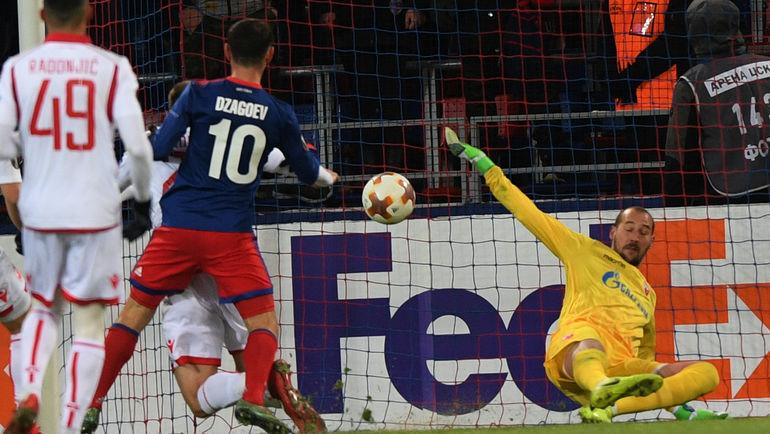 Один за всех. Дзагоев вывел ЦСКА в 1/8 финала Лиги Европы