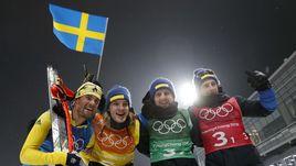 Новое золото Пихлера. Швеция - чемпион в эстафете