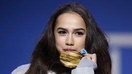 Золотые - наши! Загитова и Медведева получили медали