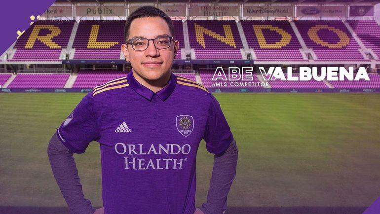 """Абрахам """"Abe"""" Вальбуэна. Фото Orlando City"""