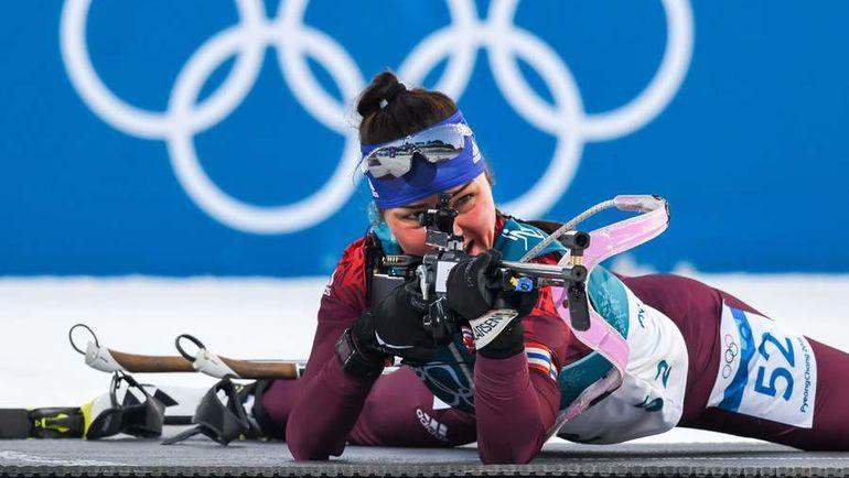 В биатлоне россияне не выиграли ни одной медали. Фото AFP