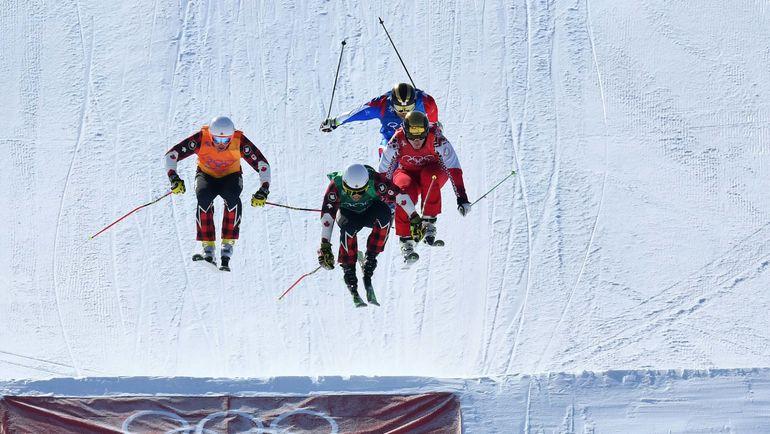 Сергей РИДЗИК (справа) во время финального заезда Олимпийских игр. Фото REUTERS