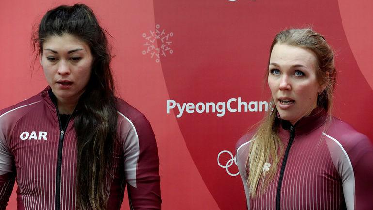 Бобслеистка Надежда СЕРГЕЕВА (справа) и керлингист Александр Крушельницкий были уличены в употреблении допинга. Фото REUTERS