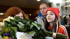 На Олимпиаде все было русским. Медведева удивлена