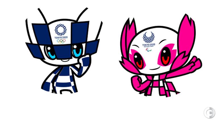 Талисманы Олимпиады Токио-2020. Имена будут определены позднее.
