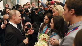 Владимир Путин наградил олимпийцев в Кремле
