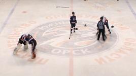 Вратари подрались друг с другом в плей-офф ВХЛ