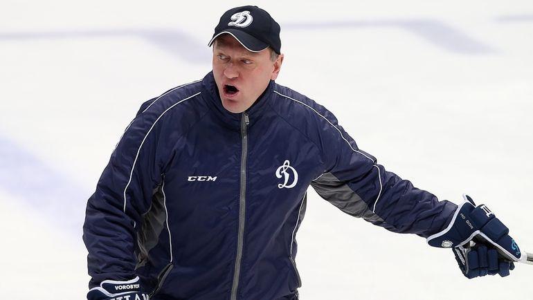 Владимир ВОРОБЬЕВ. Фото Владимир БЕЗЗУБОВ, photo.khl.ru
