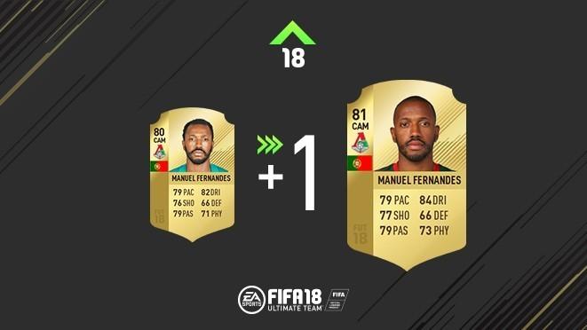 Обновление карточки Мануэла Фернандеша. Фото EA Sports