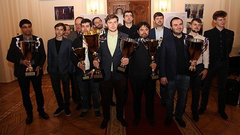Победители и участники Мемориала Таля.