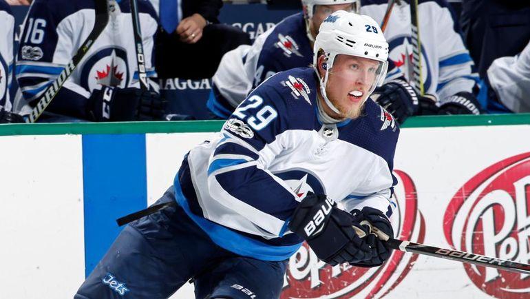 """Нападающий """"Виннипега"""" Патрик ЛАЙНЕ. Фото НХЛ"""