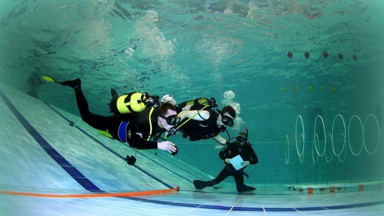 Полоса препятствий. Фото Александр ГУБИН, Федерации спортивного дайвинга