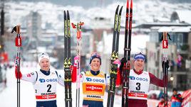 У России снова медаль в лыжах! Но норвежцев было не достать
