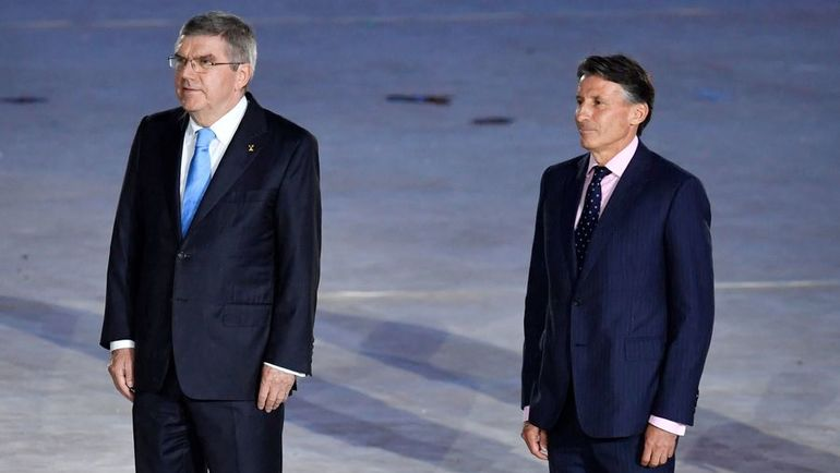 Томас БАХ (слева) и Себастьян КОЭ. Фото AFP