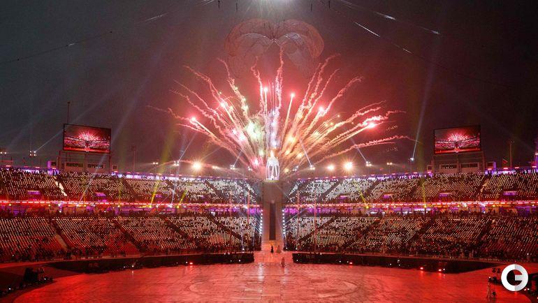 Сегодня. Пхенчхан. Открытие Паралимпийских игр.