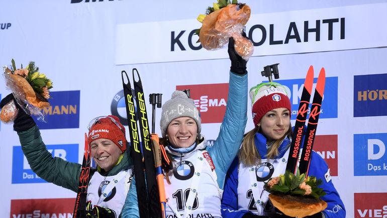 Домрачева – самая влиятельная в Белоруссии и первая в Кубке мира