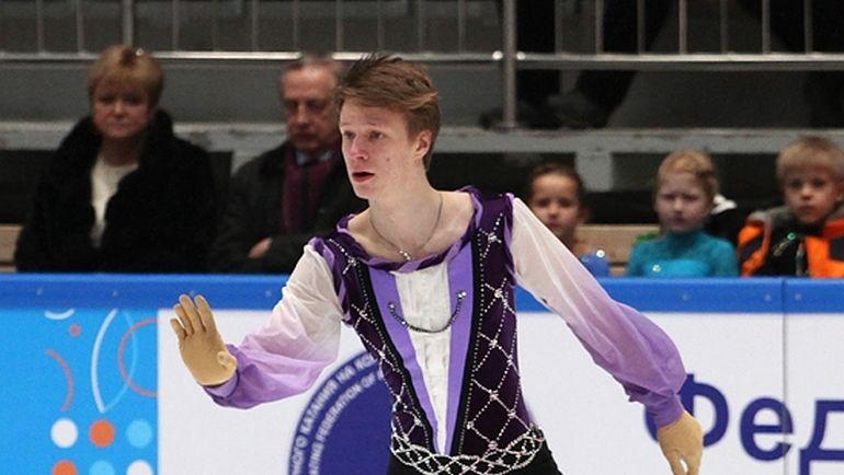 Русский фигурист Алексей Ерохов стал чемпионом мира среди юниоров