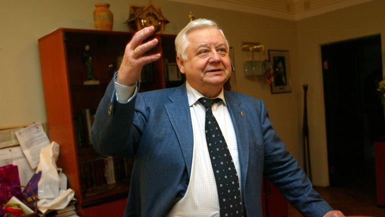 2002 год. Олег ТАБАКОВ. Фото Григорий ФИЛИППОВ