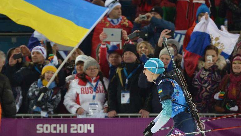 Украинские спортсмены теперь не приедут в Россию. Фото AFP