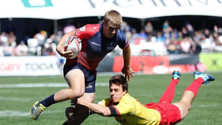 Мужская сборная России занимает 15-е место. Фото ФРР, twitter.com/RugbyRussia
