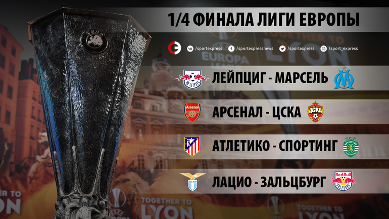 Жеребьевки 1/4 финала Лиги чемпионов и 1/4 финала Лиги Европы 2017/18