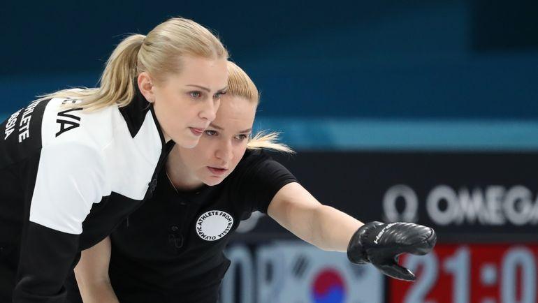 Керлингистки сборной Российской Федерации обыграли команду США вматчеЧМ