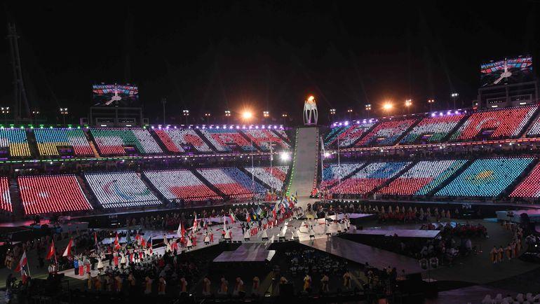 """В Пхенчхане россияне выступали под флагом МПК как """"нейтральные паралимпийские атлеты"""". Фото AFP"""